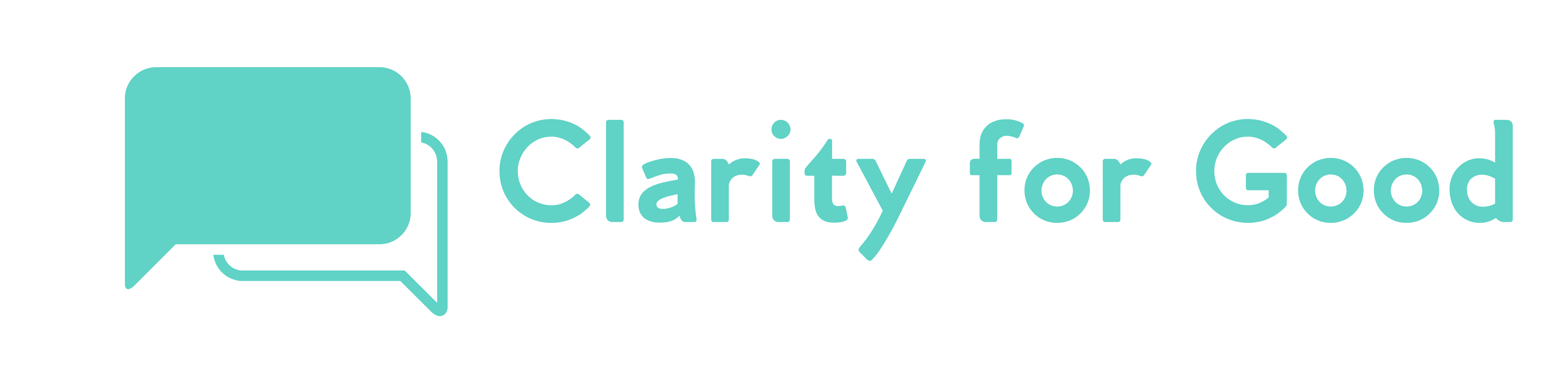 Clarity for Good